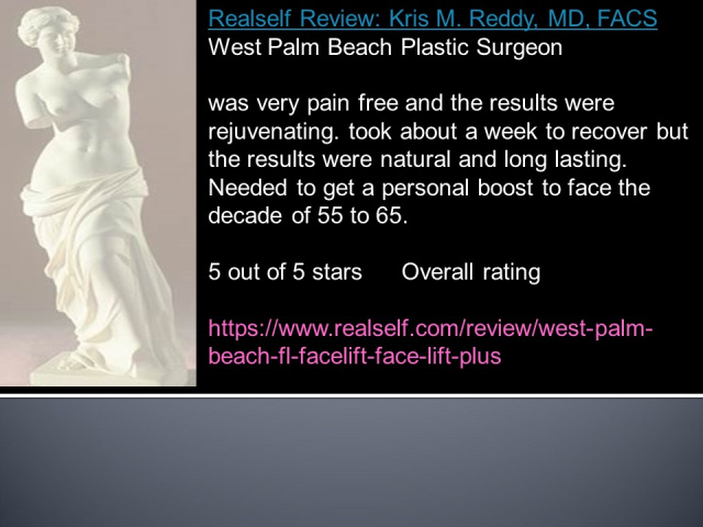 West Palm Beach Face Lift - Before and after Facelift West Palm Beach
