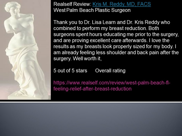 West Palm Beach Breast Reduction - Before and After Breast Reduction West Palm Beach
