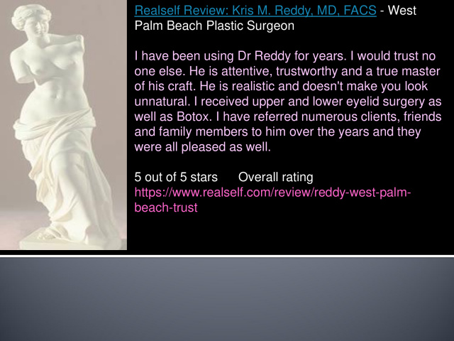 Blepharoplasty West Palm Beach Review - West Palm Beach Blepharoplasty Review